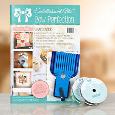 Embellishment Attic BOW PERFECTION Magazine KIT Mini & Midi BOW MAKERS & RIBBON