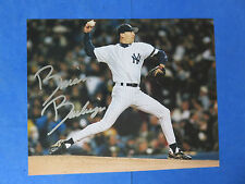 BRIAN BOEHRINGER SIGNED SIGNED 8x10 PHOTO ~ NY YANKEES ~