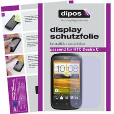 1x HTC Desire C screen protector protection guard crystal clear