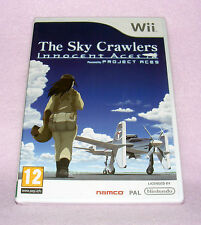 Nintendo Wii game-the sky crawlers: innocent aces