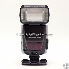 Nikon SB-800 Speedlight i-TTL Flash Guide (Guide No. 125') EXCELLENT CONDITION!
