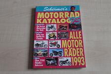 156592) Schermers MO Motorrad Katalog 1993