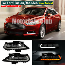 LED Daytime Running Light For Ford Fusion Mondeo DRL Fog 2013 2014 2015 Signal