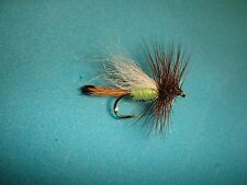 FLY FISHING FLIES - Traditional LIME TRUDE size #12 (1 dozen)
