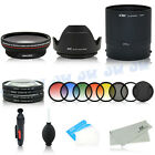 Wide Angle Lens UV CPL Graduated Filter Adapter for Nikon Coolpix P510 P520 P530