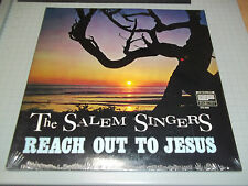 Reach Out To Jesus The Salem Singers NEW Sealed Stereo Xian Gospel FAST SHIPPING