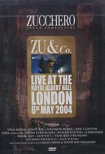 Zucchero : Zu & Co. Live at the Royal Albert Hall (DVD)