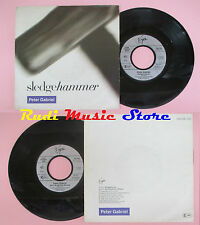 LP 45 7'' PETER GABRIEL Sledgehammer Don't break this rhythm 1986 germ cd mc dvd