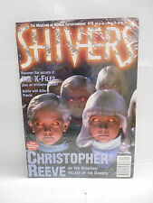 Shivers Horror Magazine #19 Christopher Reeve Interview Children Of The Damned