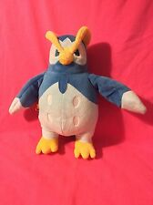 Nintendo Pokémon Talking Blue Bird Electronic Owl Plush 11""