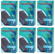 (6) AQUACLEAR 110 ACTIVATED CARBON. A-622