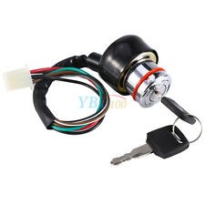 Universal Car  Motorcycle 6-Wire in 9 pin plug Ignition Switch 3 Position 2 Keys