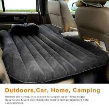 Gray - Self-Drive Air Bed Car Back Seat Rest Inflatable Mattress w Air Pump