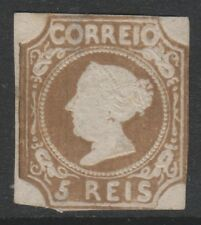Portugal - 1864 reprint of the 5r Red-Brown - 0 Margins - Mint no gum -SG 1 or 2