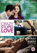 Crazy, Stupid, Love, (2012) Steve Carell, Ryan Gosling,Julianne Moore NEW R2 DVD