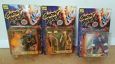 GHOST RIDER LOT OF THREE (3) FIGURES: VENGEANCE, GHOST RIDER & ARMORED BLAZE NIP