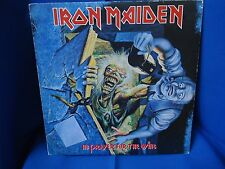 IRON MAIDEN - NON PRAYER FOR THE DYING - PORTUGAL 33 LP