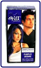 Splat Rebellious Colors Purple Desire Long Lasting Hair Color ~ 1Kit