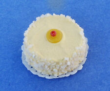 Miniature Pinneapple Coconut Dollhouse Handmade Cake 1:12 Scle New