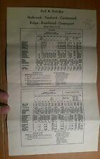 1962 Holbrook,Yaphank,Centereach,Ridge,Riverhead,Greenport Rail & Bus Schedule