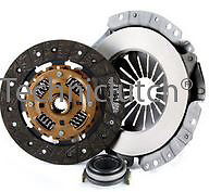 3 PIECE CLUTCH KIT INC BEARING 220MM FOR TOYOTA STARLET 1.3 1.5 D