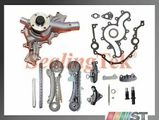 Fit 97-11 Ford 4.0L SOHC V6 Engine Timing Chain Kit w/ Cover Gasket & Water Pump