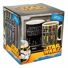 Official Star Wars Lightsaber Heat Change Activated Coffee Mug - Boxed New
