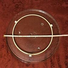 """Replacement 13.5"""" GE Y103 Microwave Glass Cooking Tray Plate + Turntable Wheel"""