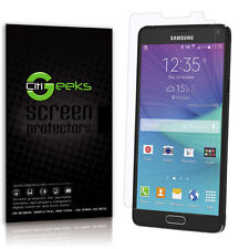 CitiGeeks® Samsung Galaxy Note 4 Screen Protector Matte Anti-Glare [3-Pack]