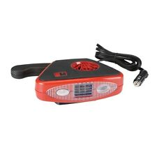 12 Volt DC Portable Auto Heater & Defroster With Light! Warm You Auto Quickly!