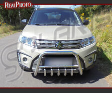 SUZUKI VITARA 2015+ BULL BAR, NUDGE BAR, A BAR STAINLESS STEEL + GRATIS!
