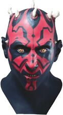 Star Wars Clone Wars Darth Maul Sith Full Latex Costume Mask - Fast Ship -