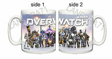OVERWATCH ( OVER WATCH ) Game PS4 , XBOX ONE with your GAMER TAG Coffee Mug