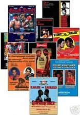 Middleweight Greats Program Cover Trading Card Set