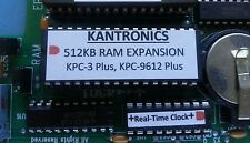 Kantronics KPC-3 Plus 512KB Memory Exp. & Real-Time Clock (RTC)