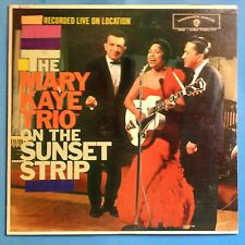 The Mary Kaye Trio On The Sunset Strip-1959 WB Mono-DG-VG++/VG+ POP VOCAL