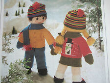 JEAN GREENHOWE TOY / DOLL KNITTING PATTERN FOR BOY & GIRL DOLLS & CLOTHES