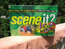 Scene It ? Jr. DVD Game 2004 By Optreve & Mattel Games~New & Factory Sealed!