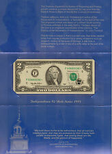 1995 STAR $2 FRN, Atlanta, Very High Grade Unc Note, From the BEP (O-34)
