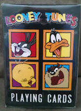 LOONEY TUNES PLAYING CARDS 1993 BUGS BUNNY TWEETY TAZ DAFFY DUCK Sealed NEW Wow!