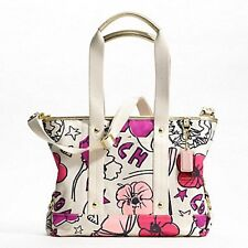 NEW WITH TAGS AUTHENTIC COACH F17148 KYRA FLORAL PRINT TOTE MSRP $248
