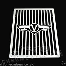 KAWASAKI VN1500 CLASSIC VULCAN NOMAD STAINLESS STEEL RADIATOR COVER GUARD GRILL