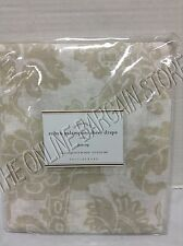 1 Pottery Barn Robyn Palampore Sheers Drapes Panels Curtains Neutral 50x84