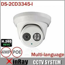 Hikvision Multi-language DS-2CD3345-I V5.3.3 POE Full HD 4MP CCTV Camera