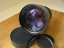 Contax 180mm Sonnar 2.8 MMG Lens Carl Zeiss 180mm f/2.8 Sonnar T* MMG Lens MINTY
