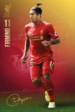 ROBERTO FIRMINO 2017 - LIVERPOOL POSTER - 24x36 - FOOTBALL SOCCER 34159