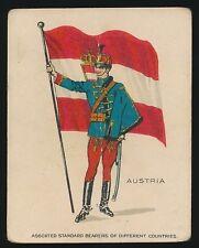 1915 T105 Zira Cigarettes -STANDARD BEARERS -Austria