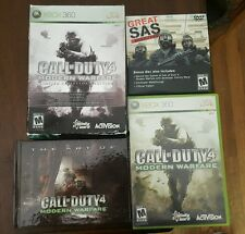 Call of Duty 4 Modern Warfare Limited Collector's Edition. Xbox 360. COMPLETE