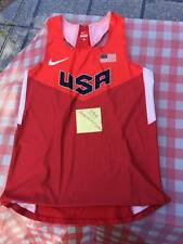 USA Olympic track and field singlet usatf rio rare authentic size medium