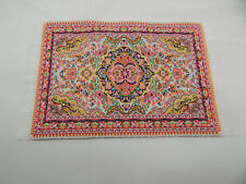 "4""x6"" #79KK  Dollhouse Miniature 1:12 Scale Floor Carpet  Woven Area Rug"